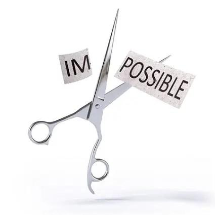 De imposible a posible