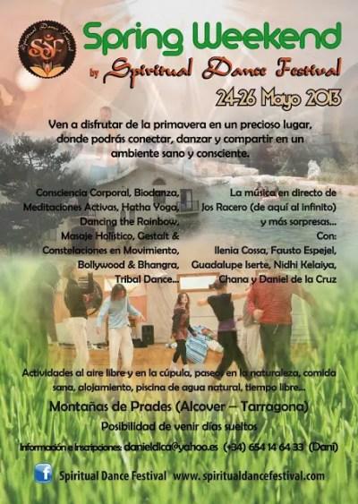 SpringFes - SPRING WEEKEND by Spiritual Dance Festival - 24-26 Mayo 2013 - Alcover/Tarragona