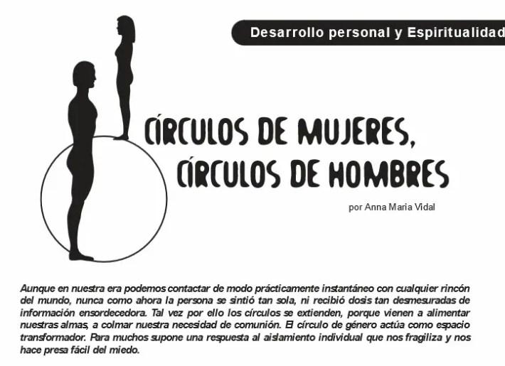 circulos de mujeres y hombres