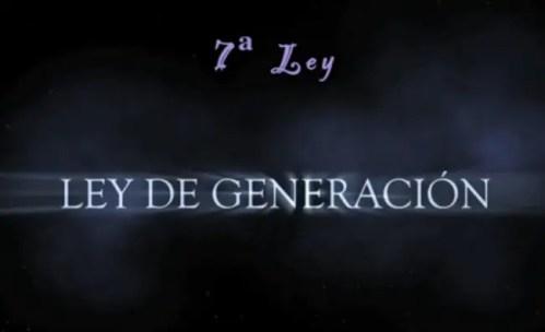 ley de generación - ley de generación