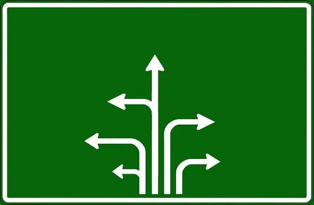O de opciones elegir entre varios caminos - O de Opciones. El Abecedario de la Felicidad