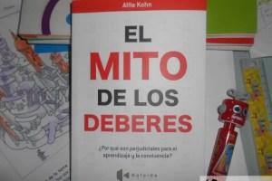 mito de los deberes2 - EL MITO DE LOS DEBERES: ¿Por qué son perjudiciales para el aprendizaje y la convivencia? por Alfie Kohn