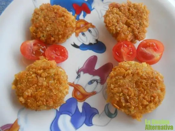 nuggets - Horchata casera con la CHUFAMIX y 4 recetas más