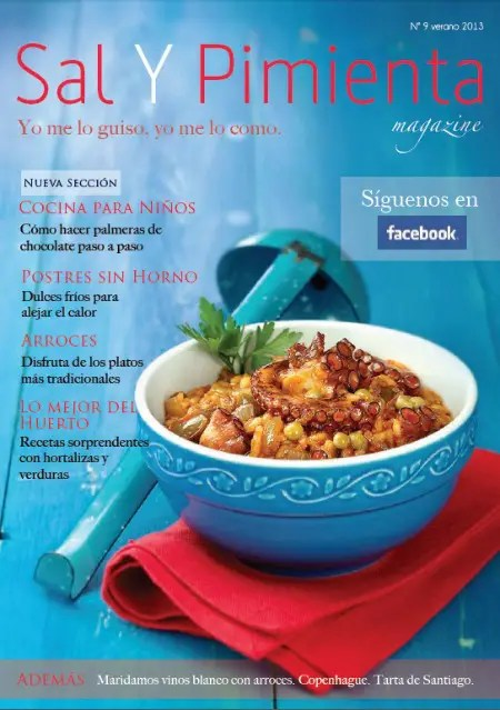 sal y pimienta verano 2013 - 64 reglas para aprender a COMER BIEN y otros artículos de La Cocina Alternativa
