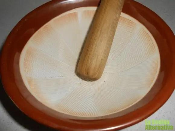 suribachi - 64 reglas para aprender a COMER BIEN y otros artículos de La Cocina Alternativa