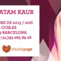 """concierto snatam kaur - CONCIERTO DE SNATAM KAUR en Barcelona: """"Cuando cantamos mantras, treinta millones de células del cuerpo resuenan, bailan, formando patrones que nos moldean física, mental y espiritualmente"""". Entrevista"""