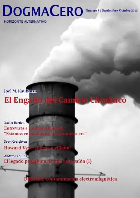 DOGMA CERO 5 - EL ENGAÑO del cambio climático y más temas para reflexionar en Dogma Cero 5 (revista online gratuita)