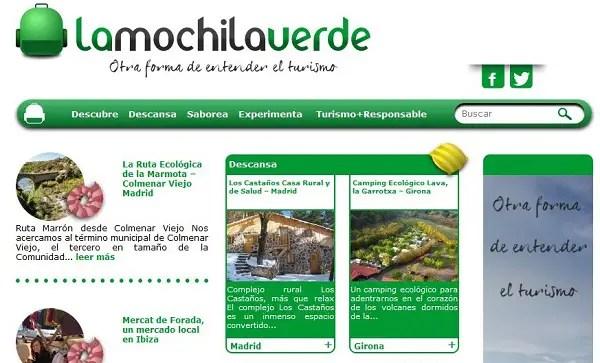 La Mochila Verde - La Mochila Verde - Otra forma de entender el turismo. Los viernes de Ecología Cotidiana