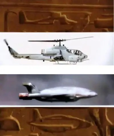 revelacion pirámides aviones