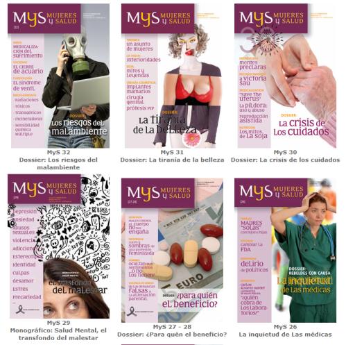 revista mujeres y salud - revista mujeres y salud