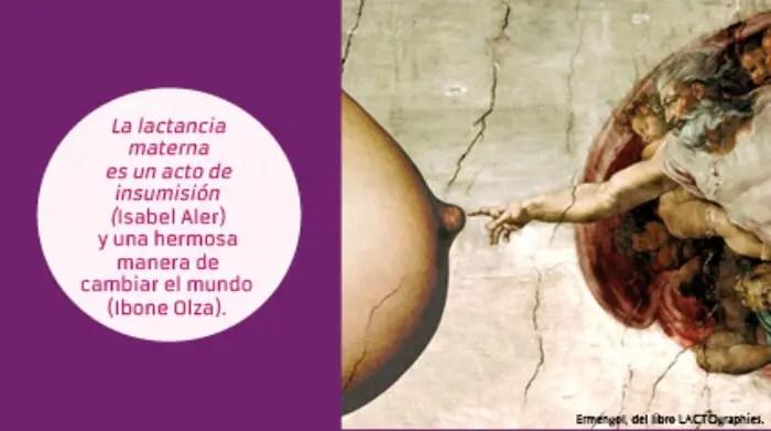 """Promoción3i - """"El pecho no es lo mejor"""": LACTIVISTA de Ibone Olza"""