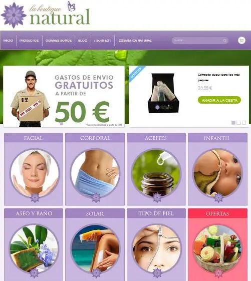 La Boutique Natural - La Boutique Natural. Cosmética natural y ecológica