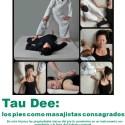 taudee - Tau Dee: masaje con los pies. Revista online Espacio Humano 182