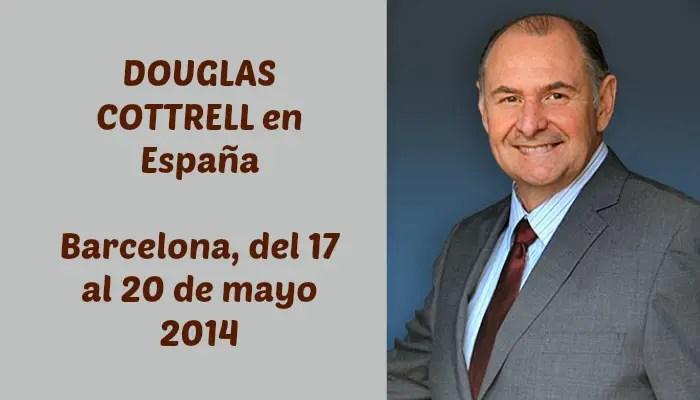 """douglas 2014 - DOUGLAS COTTRELL en España el 17 de mayo 2014: """"Todos venimos aquí para mejorar espiritualmente"""""""
