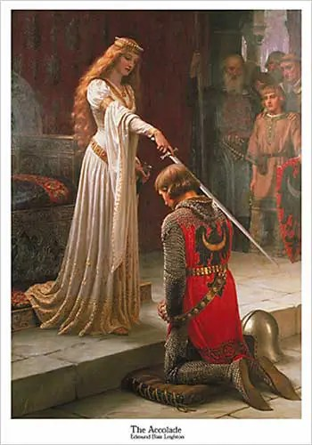 The-Accolade-Edmund-Blair-Leighton