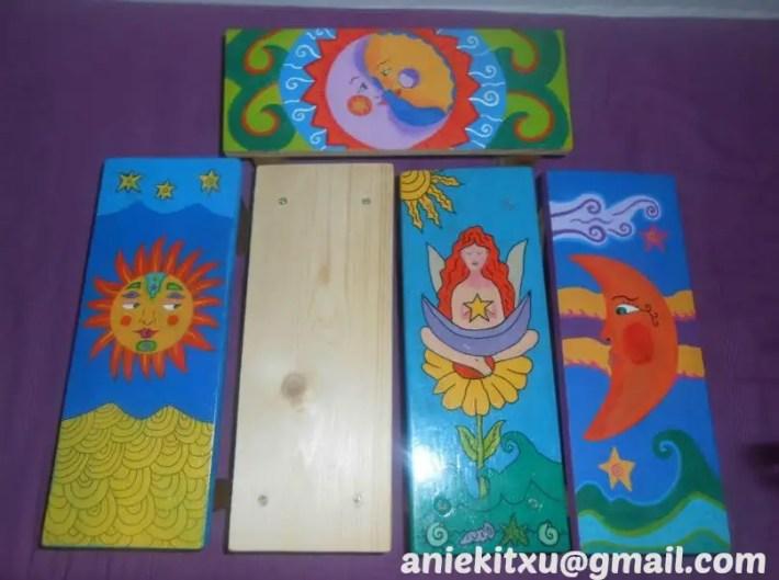 banqueta3 - Banquetas de meditación artesanales