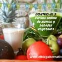 sorteo blog 6 años - Ganadores del sorteo de 3 cursos online de zumos y bebidas vegetales