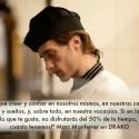 """marc - """"Hay que arriesgarse. El trabajo precario no te da la felicidad"""" Entrevista a Marc, joven cocinero y emprendedor"""
