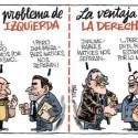 politicacruzviñeta - mundobocabajo: ¿está la política tradicional crucificada?