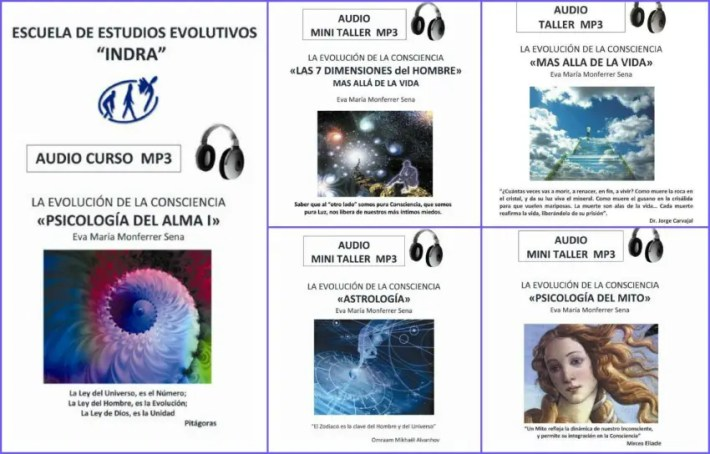 5 audiocursos
