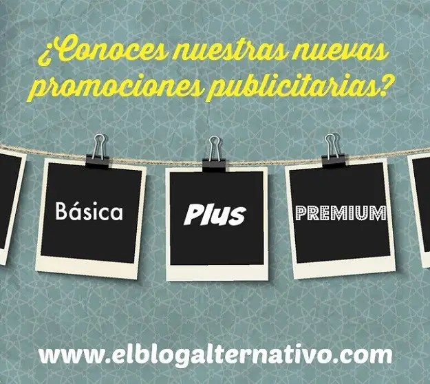 pack publicidad marzo 2015 - Nuevas promociones publicitarias en El Blog Alternativo