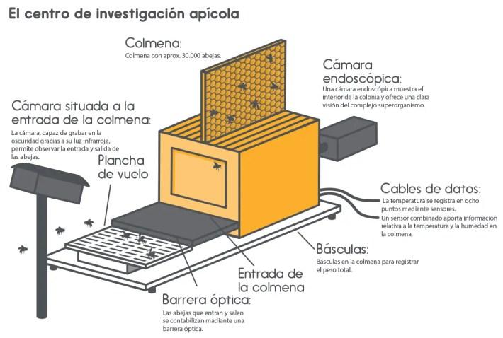 Centro de investigación apícola1 - Bee Careful, en defensa de las abejas