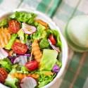 ensalada - Calor y alimentos acalóricos