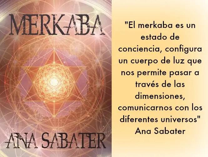 merkaba - MERKABA: la nueva novela de la escritora Ana Sabater