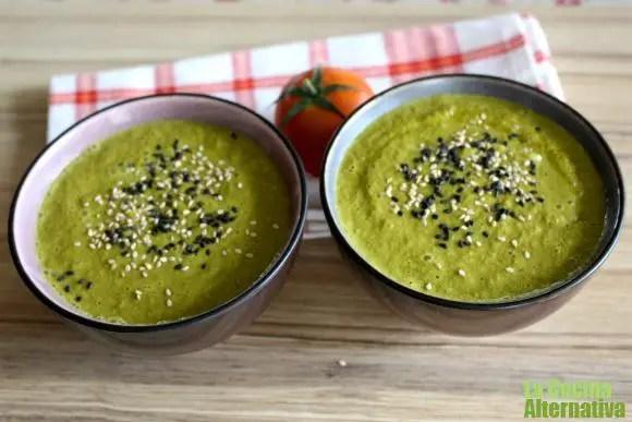 gazpacho de kale