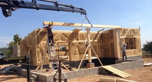 casas de paja construcción