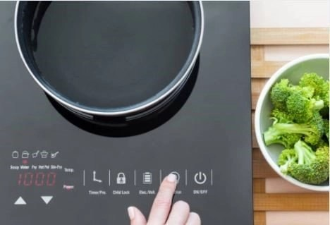 placa y brocoli - Tipos de placas: ¿Cuál pongo en mi cocina?