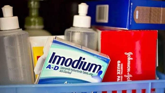 Efectos secundarios del uso de Imodium