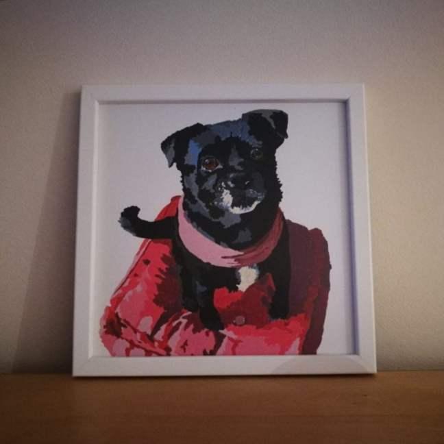 retratos para perros