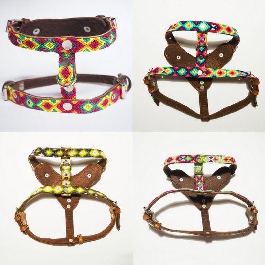 arneses artesanales para perros