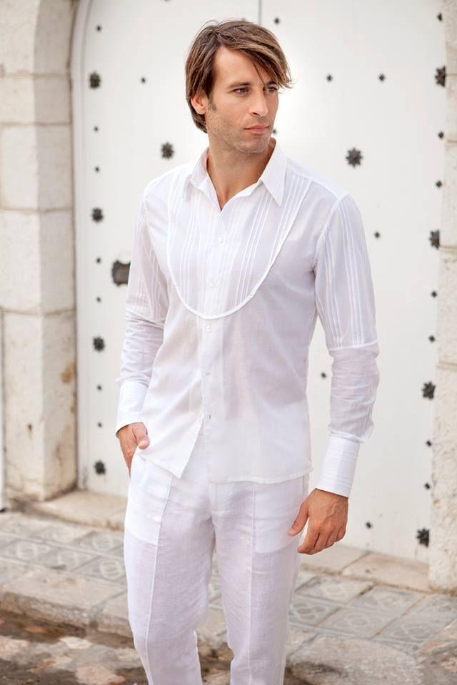 El color blanco en hombres