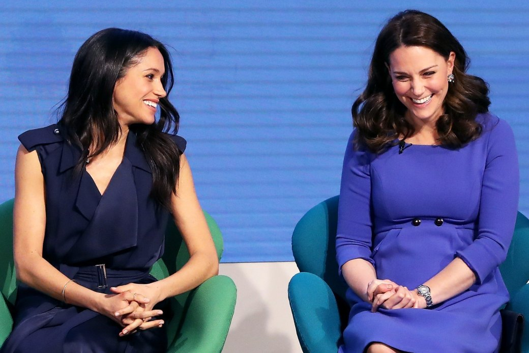 Meghan Markle-Kate Middleton siempre compinches