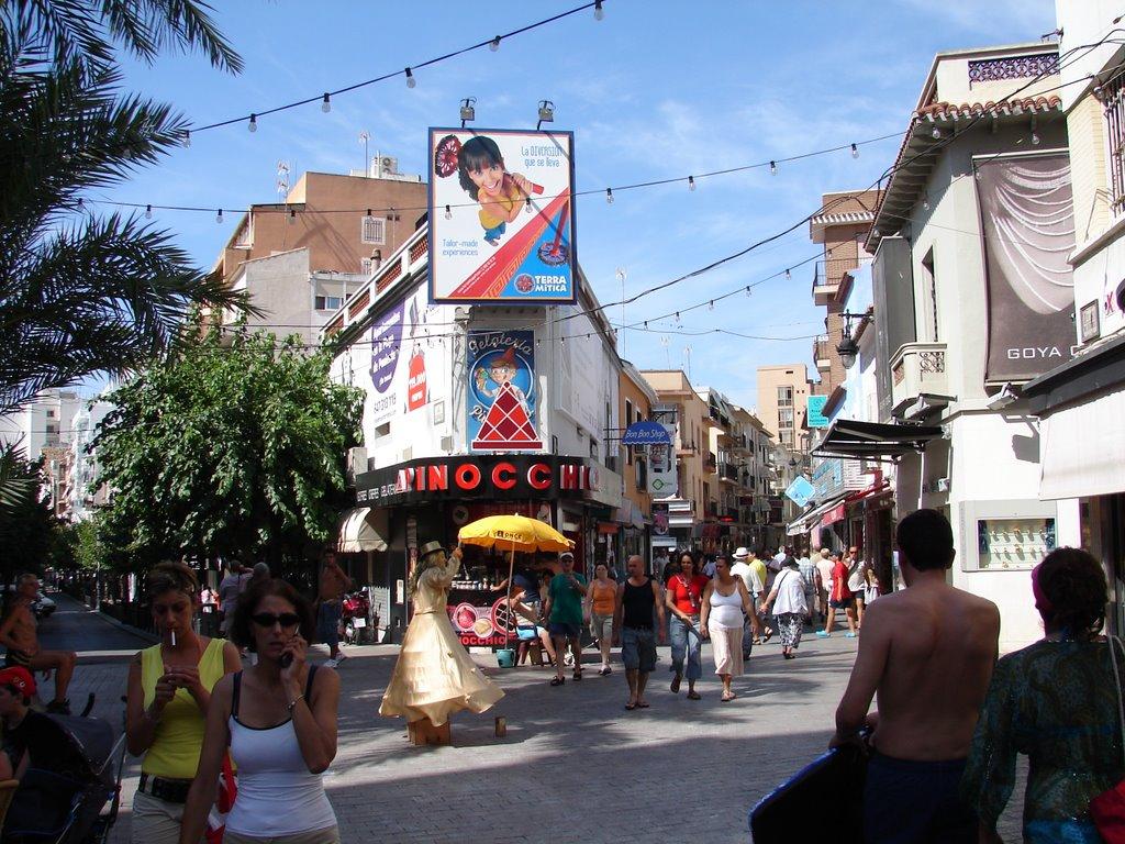 Calle del Coño Benidorm