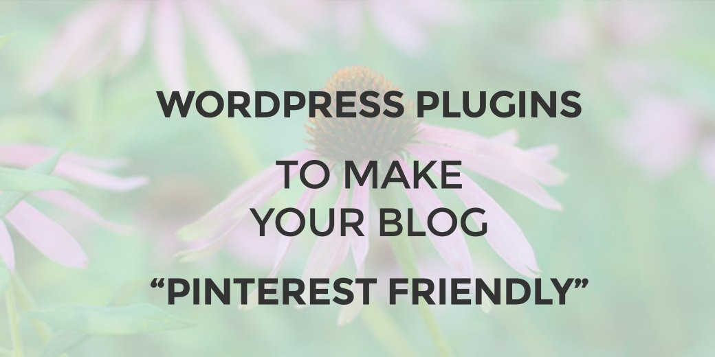 pinterest friendly para tu blog