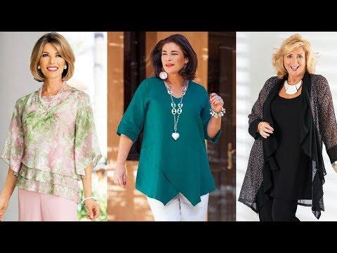 Vestidos de moda para mujeres maduras