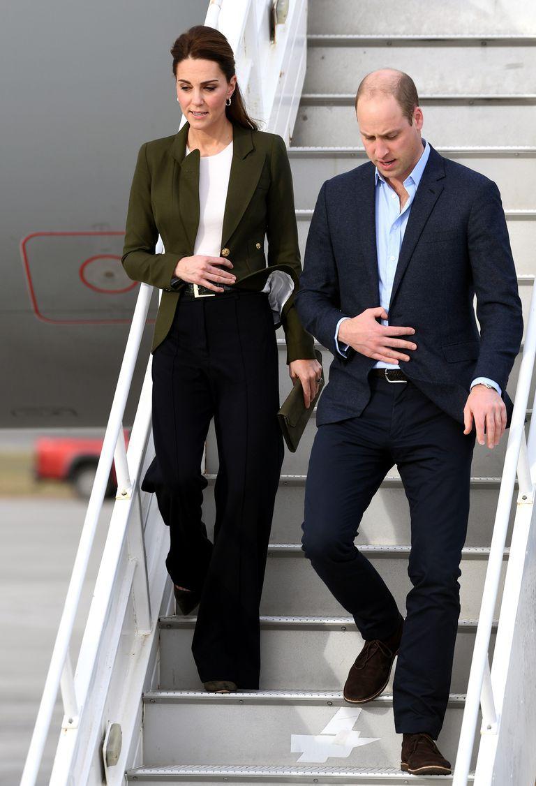 Kate Middleton con un gran outfit