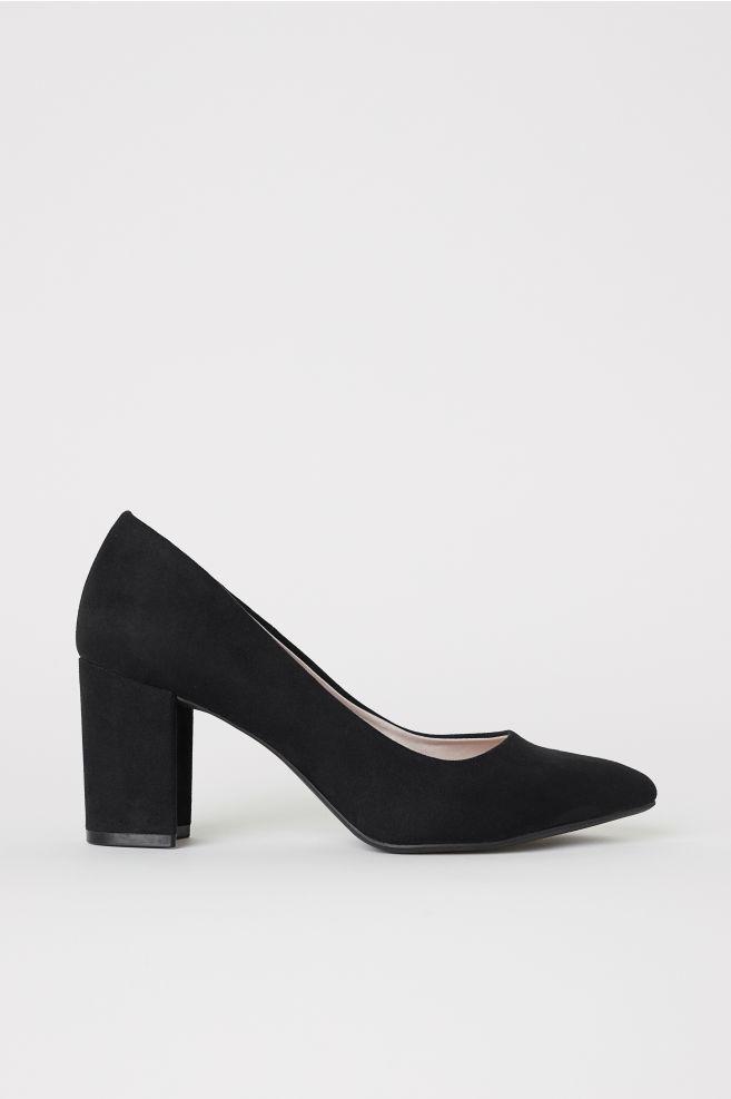 zapato de tacón medio