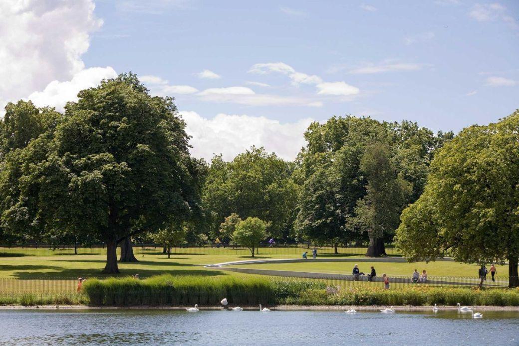 Las ardillas del Hyde Park, Londres