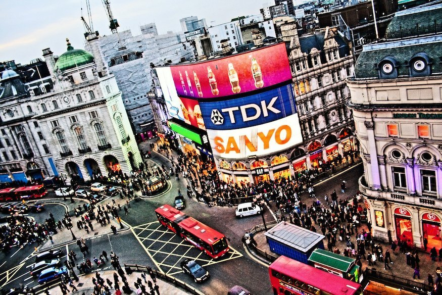 Picadilly Circus, Londres