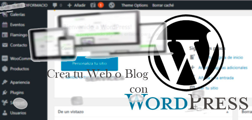 Crear tu blog con WordPress