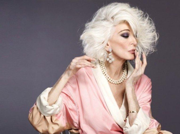 Tendencias de moda en mujeres maduras que son íconos