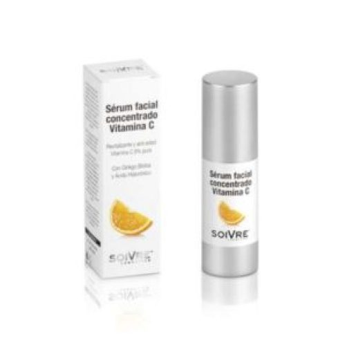 Sérum facial concentrado con vitamina C