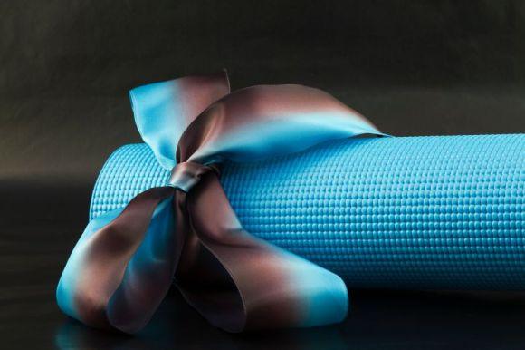 regalos de yoga navideños: esterilla