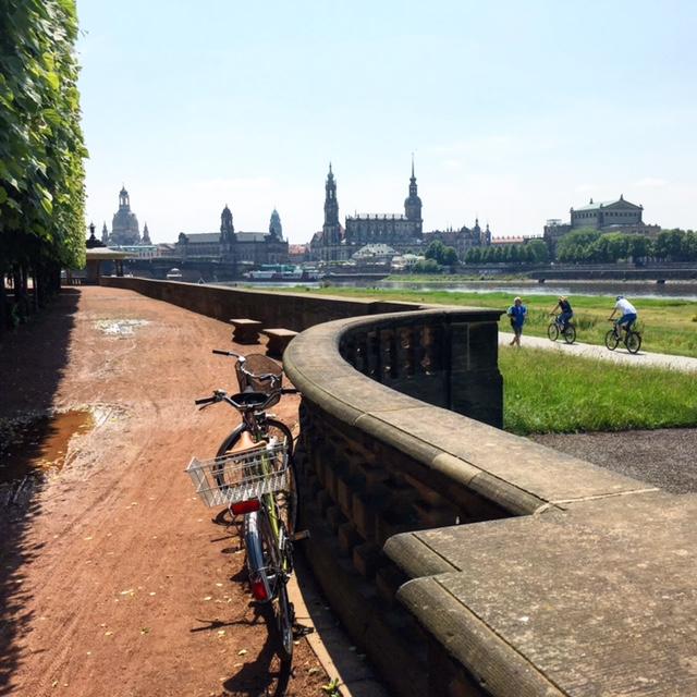 Canalettoblick Dresden