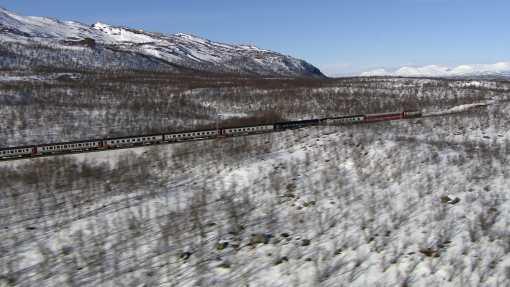 NDR LMA <br> Leben am Polarkreis. Mit dem Zug durch Schwedens Norden.