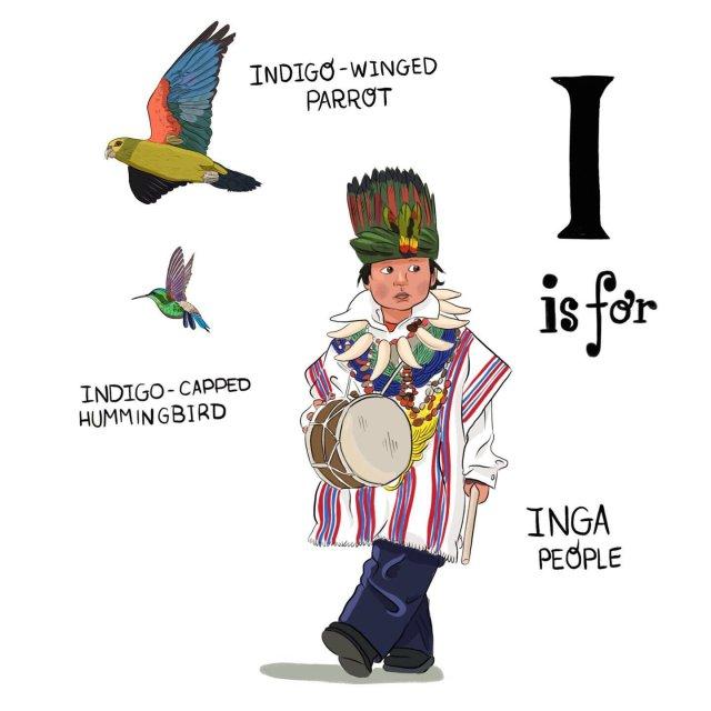 abecedario colombiano el bogotano i